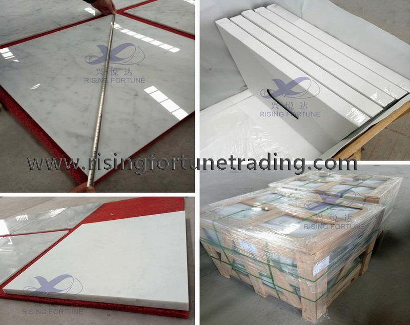 carrara marble wall tile