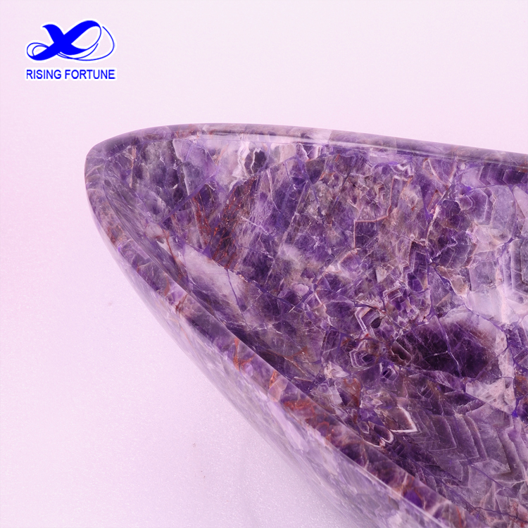 natural amethyst basin
