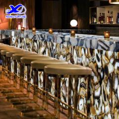 agate stone bar counter top