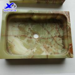 green onyx vessel sink