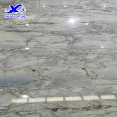 super white marble slab