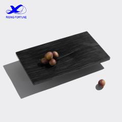 Black and delicate marble serving tray