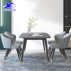 marble top dining table set